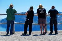 Besucher - Crater Lake Nationalpark - Oregon