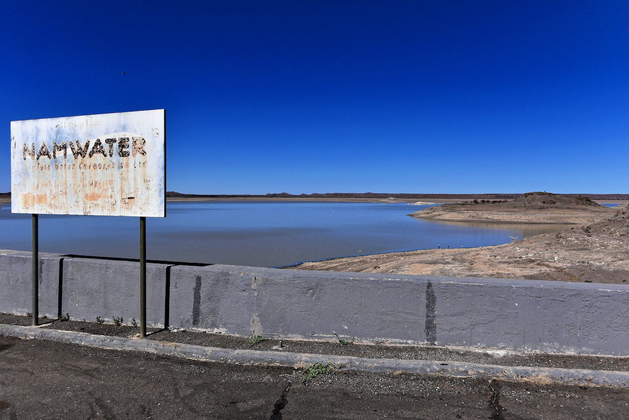Blick über den Fluss Kwando