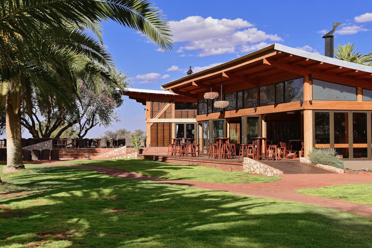 Grenze von Simbabwe nach Botswana