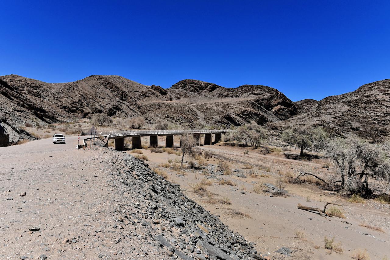 Brücke am Kuiseb Pass